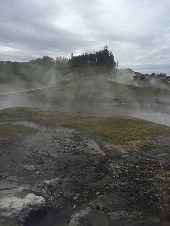 Fludir, ไอซ์แลนด์: Little to much chlorine for my liking