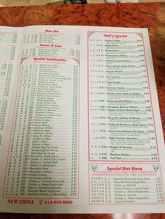 Lebanon Ohio Chinese Restaurants