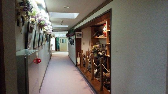 Karasawa Kousen: 風呂場への通路