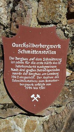 Besucherbergwerk Schmittenstollen