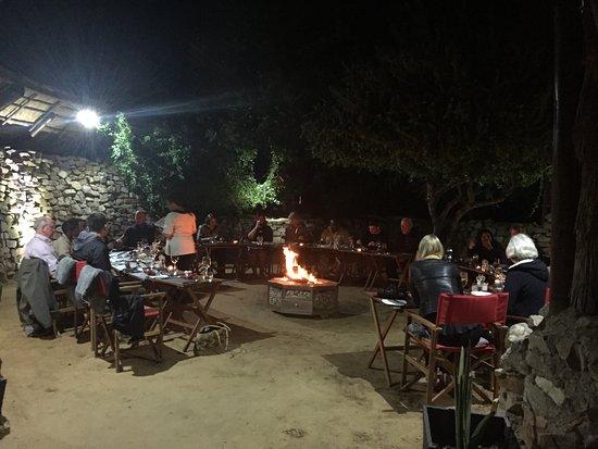Shamwari Game Reserve, Sudáfrica: Barbecue Night