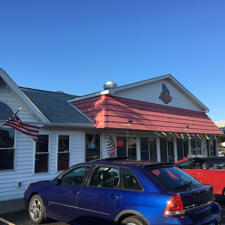 Elma, NY: Johnny Family Restaurant - from outside
