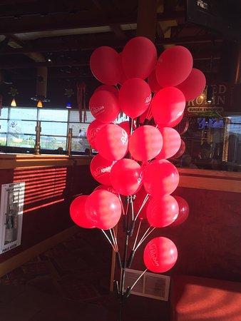 Hamburg, PA: Kids can get a balloon