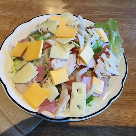 "Elma, NY: Johnny Family Restaurant - my ""chef's salad"""