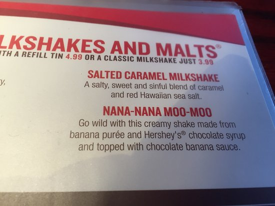 Hamburg, PA: Tasty shakes