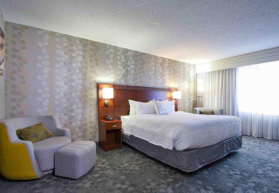 Blacksburg, Βιρτζίνια: King Suite Bedroom