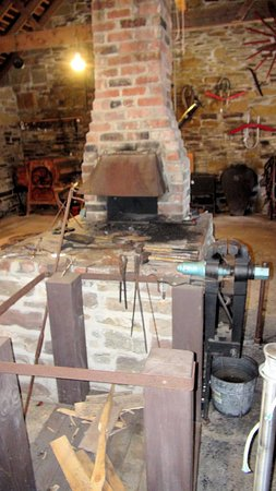 Arichat, Canada: the forge