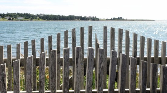 Arichat, Canadá: view of the bay from the site