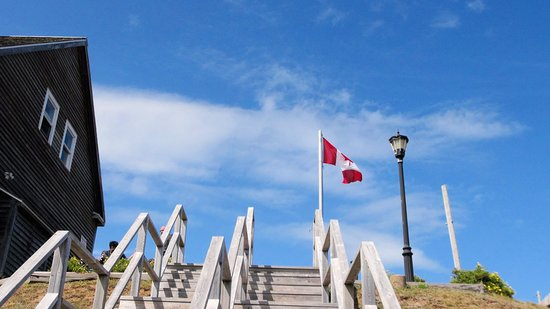 Arichat, Kanada: entrance stairs