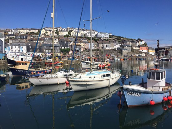 Fowey to Mevagissey Ferry: Mevagissey harbour
