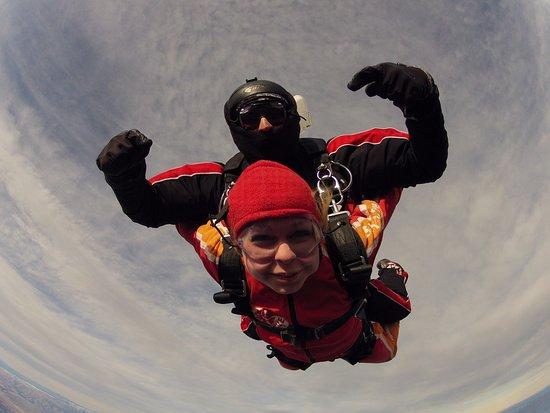 Wanaka, New Zealand: skydiving!