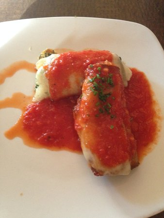 Jersey Girl Bar and Restaurant: Eggplant Crepes
