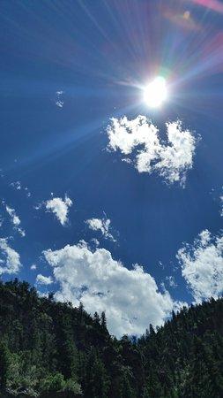 Glenwood Canyon: Brilliant July day
