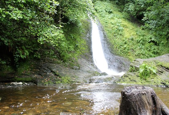 Lydford, UK: White Lady falls