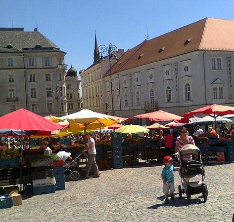 """Brno, Republika Czeska: """"Овощная"""" площадь, Брно, Чехия"""