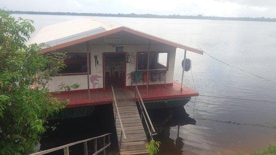 Novo Airao, AM: Entrada do local