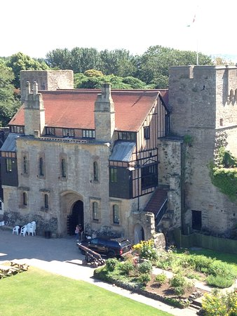 Caldicot, UK: Colidicot Castle Residance