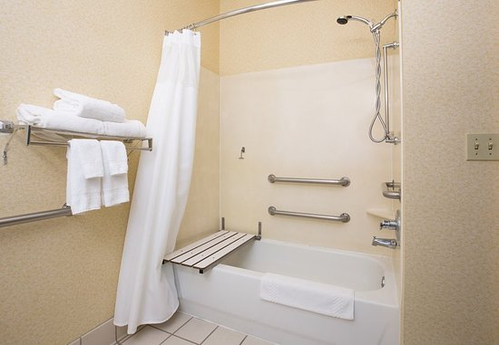 Vacaville, Kalifornien: Accessible Guest Bathroom