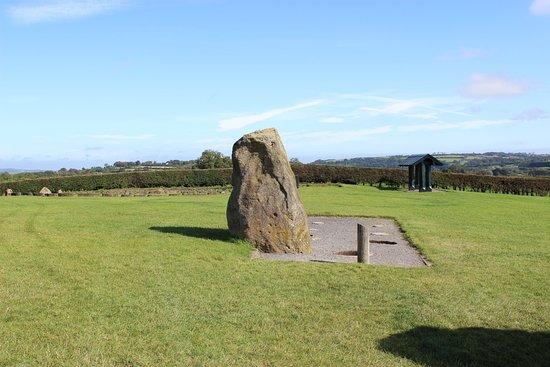 Donore, Irland: огромные камни в окрестностях мегалита