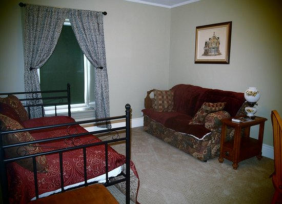 Carusos On King Bed and Breakfast & Serenity Spa: Serenity Suite