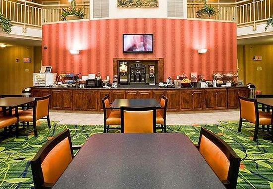 Hayward, كاليفورنيا: Breakfast Sitting Area