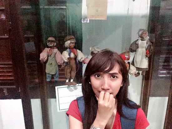 Museum Wayang: salah satu koleksi wayang di museum ini