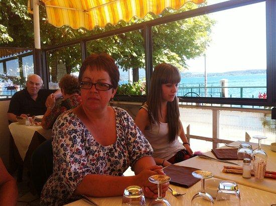Belgirate, Italia: manger au bord de l'eau...et super bien en plus!!!