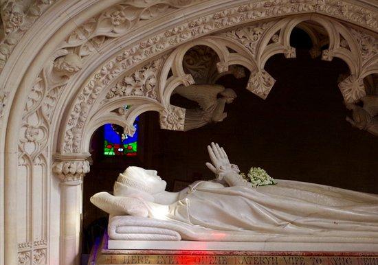 Winchcombe, UK: Katherine Parr tomb.