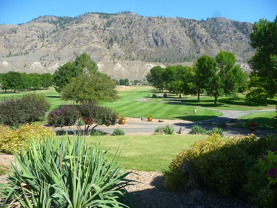 Kamloops, Canadá: looking towards the first hole.