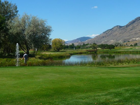 Kamloops, Canadá: lost a couple of balls here!