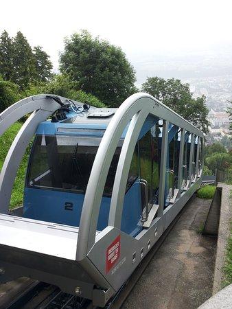 Hungerburgbahn in Innsbruck: Spettacolare