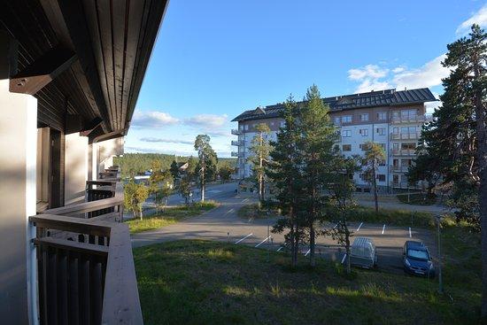 Lapland Hotel Riekonlinna: vista dal terrazzino.