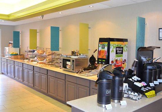 Hickory, Carolina del Norte: Breakfast Area