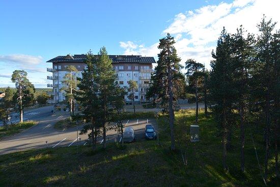 Lapland Hotel Riekonlinna: dintorni dal terrazzino.