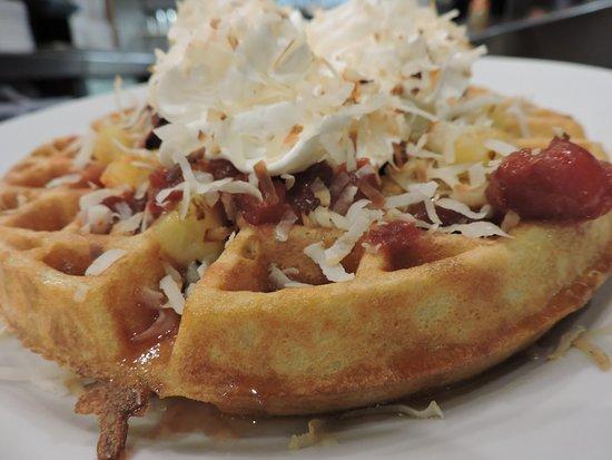 Elgin, Ιλινόις: Hawaiian Waffle