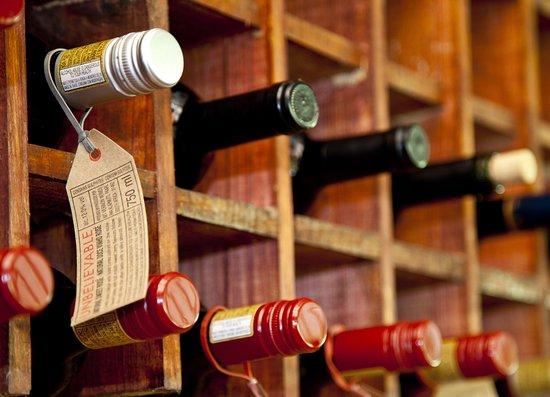 Bwindi Impenetrable National Park, Uganda: wine stock