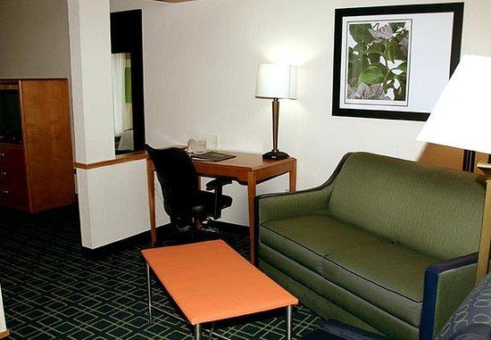 Fairmont, Virginia Occidental: King Suite