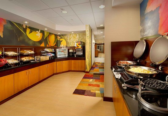 Germantown, Мэриленд: Complementary hot breakfast buffet