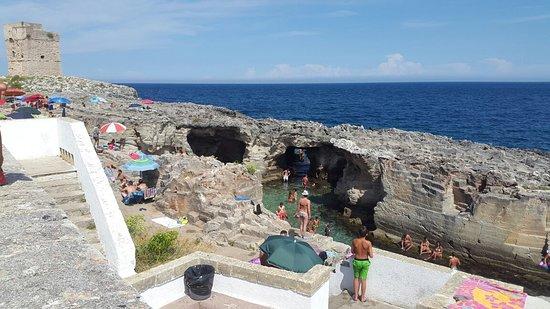 Piscina naturale di marina serra foto di piscina - Piscina naturale puglia ...