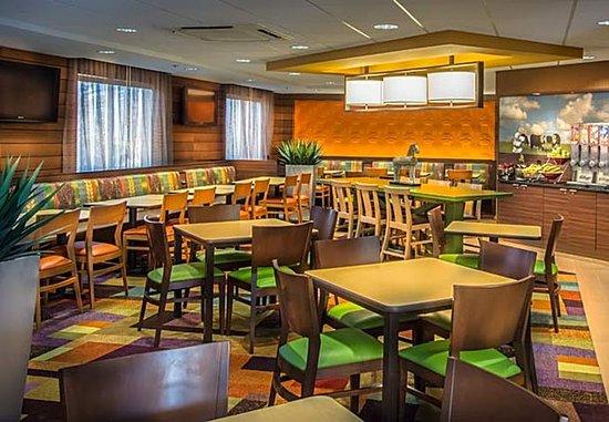 Dulles, VA: Breakfast Dining Area