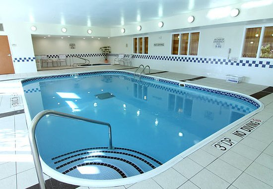 Burnsville, Μινεσότα: Indoor Pool & Whirlpool
