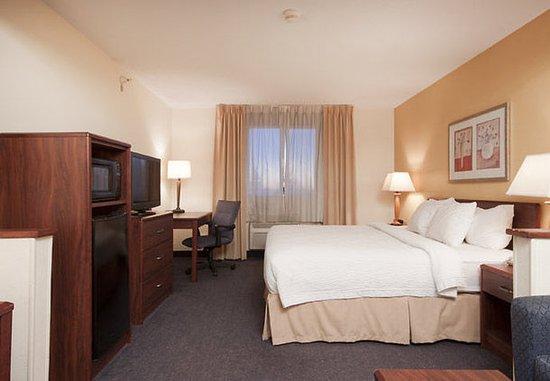 Liverpool, estado de Nueva York: Executive King Guest Room Sleeping Area