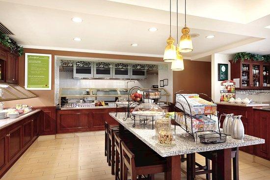 Bridgewater, Nueva Jersey: Buffet Area