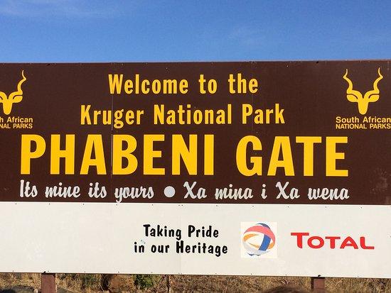 Nelspruit, Sudafrica: One of the Gates