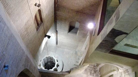 Palazzo Trinci: Pozzo oggi inglobato all'interno del palazzo