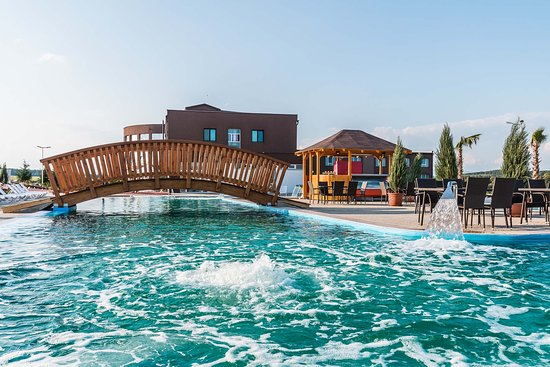 Lucenec, Slovakia: Seawater pool