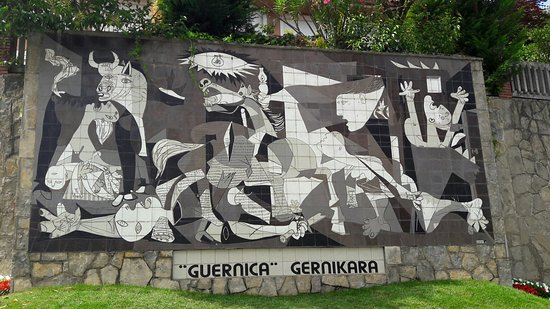 Fundación Museo de La Paz de Gernika: painel de Picasso