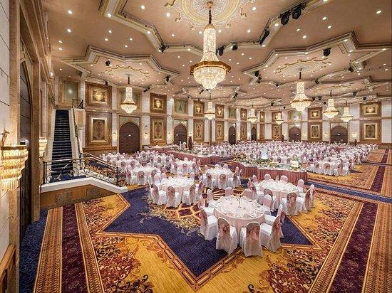 Jeddah Hilton Hotel: Dining Setup