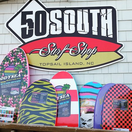Surf City, Carolina del Nord: Tons of Beater boards