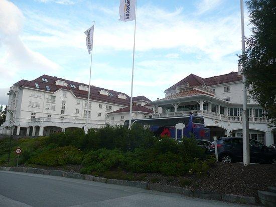 Geilo, Noruega: Hotel - front view